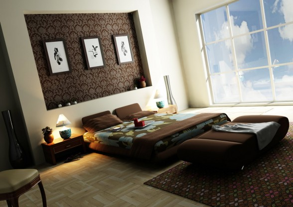 Decorations Modern Bedroom (6)