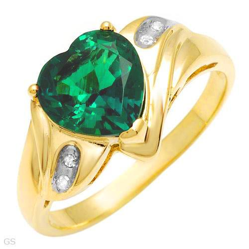 ����� ������ ������ Emerald Engagement Rings