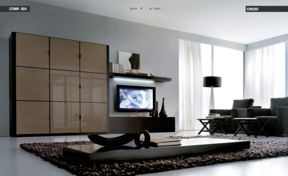 Italian decorations for modern living rooms (10)