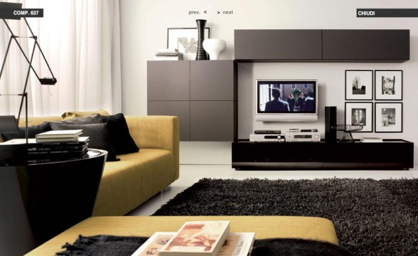 Italian decorations for modern living rooms (12)