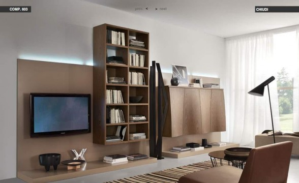 Italian decorations for modern living rooms (13)