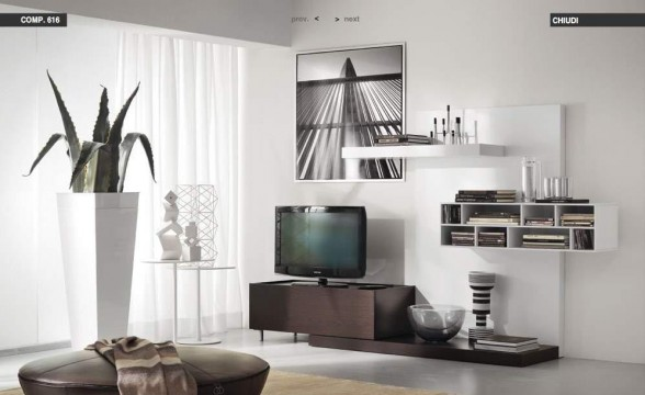 Italian decorations for modern living rooms (15)