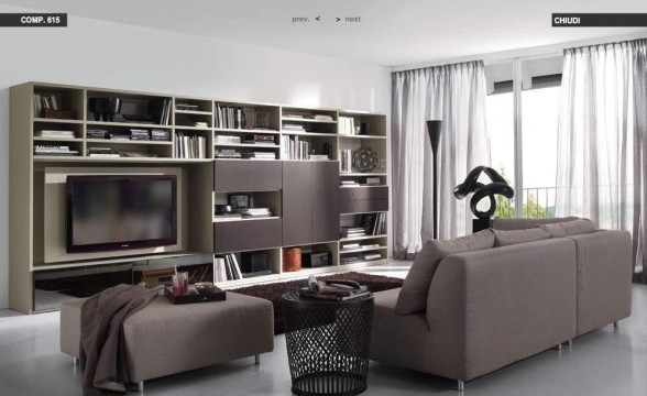 Italian decorations for modern living rooms (16)