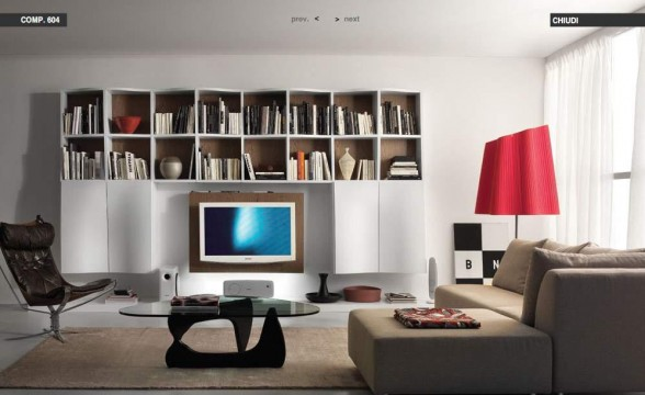 Italian decorations for modern living rooms (17)