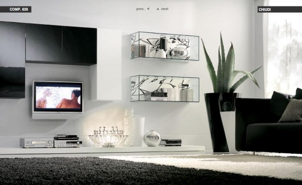 Italian decorations for modern living rooms (2)