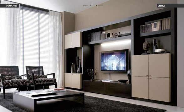Italian decorations for modern living rooms (20)