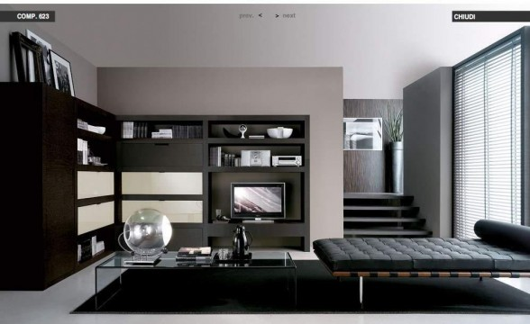 Italian decorations for modern living rooms (3)