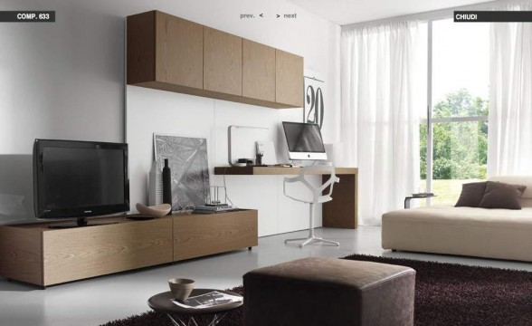 Italian decorations for modern living rooms (5)