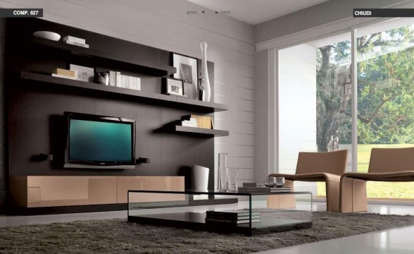 Italian decorations for modern living rooms (6)