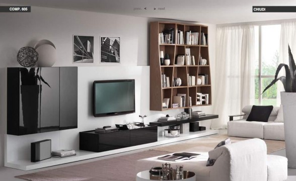 Italian decorations for modern living rooms (7)