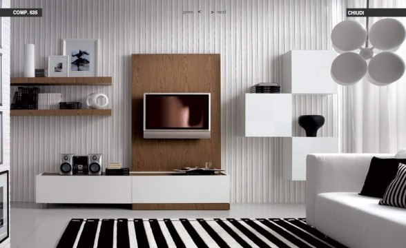 Italian decorations for modern living rooms (8)