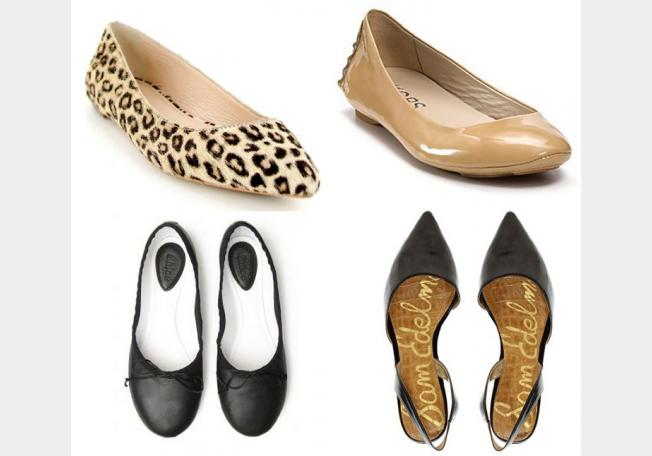 Pointed flat shoes8