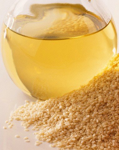 Recipe sesame oil and ginger to the skin supple