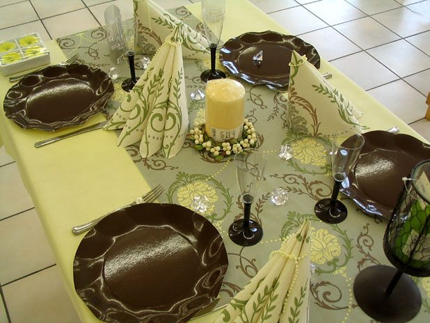 The art of decorating the dining table10