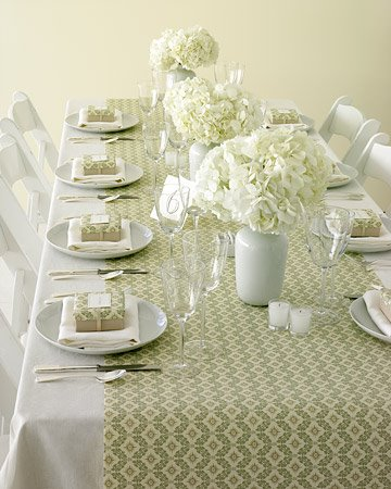 The art of decorating the dining table12
