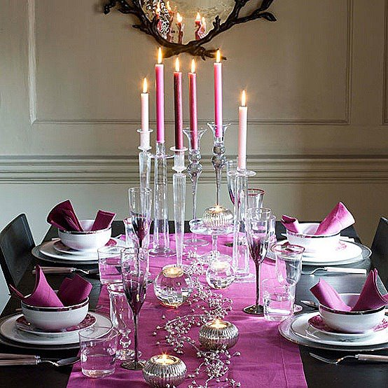 The art of decorating the dining table4