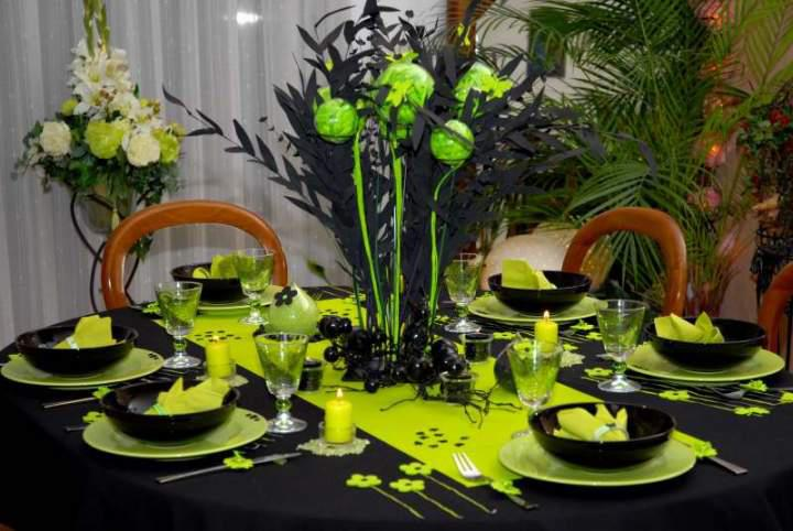 The art of decorating the dining table8