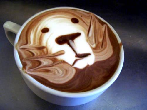 The art of painting on coffee10