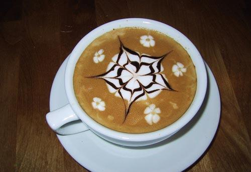 The art of painting on coffee16