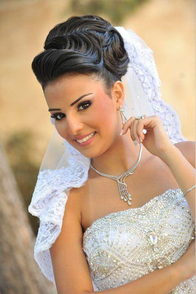 Beautiful bride Hairstyles for 2013