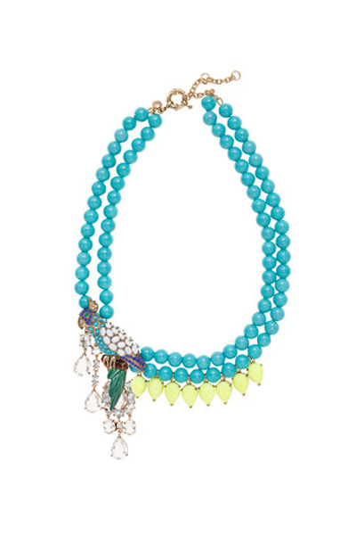 Blue turquoise jewelry