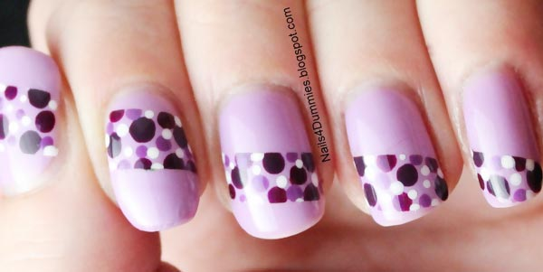 dotted-stripe-purple-nails