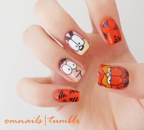 garfield-nails