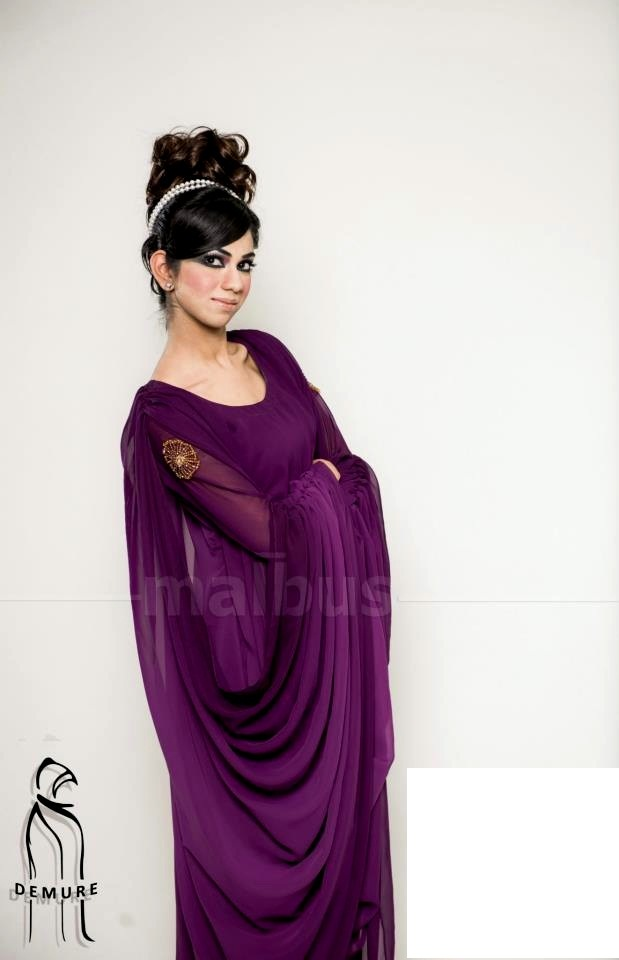 Demure Abaya Collection 2013 For Women By Malbus (1)
