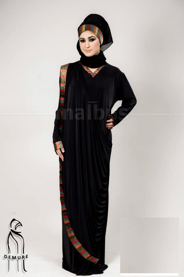 Demure Abaya Collection 2013 For Women By Malbus (2)