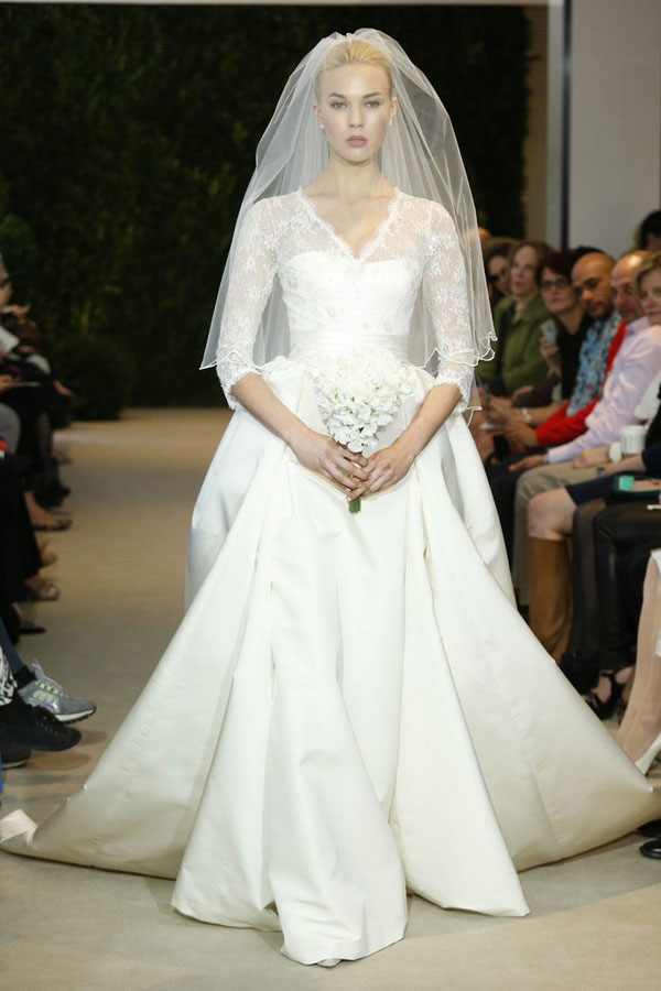 Carolina Herrera bridal collection for spring-summer 2014 (10)
