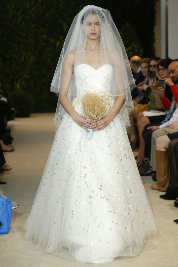 Carolina Herrera bridal collection for spring-summer 2014 (20)