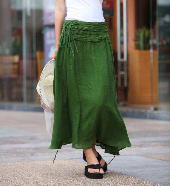 Fashion long skirts for summer 2013 (1)