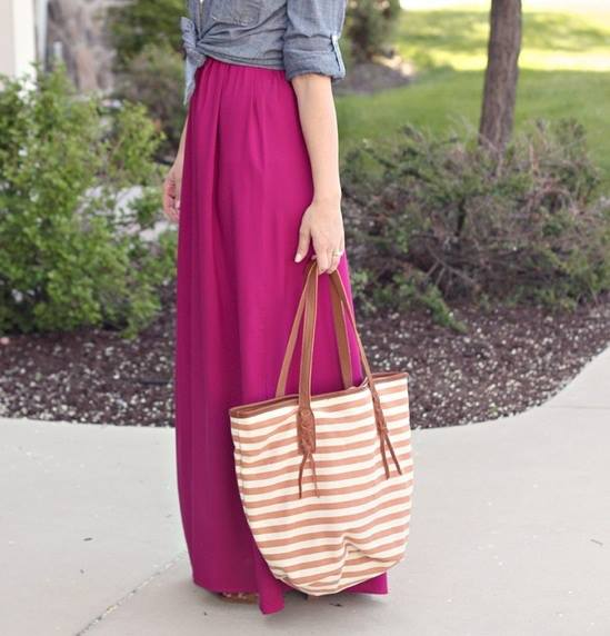 Fashion long skirts for summer 2013 (14)