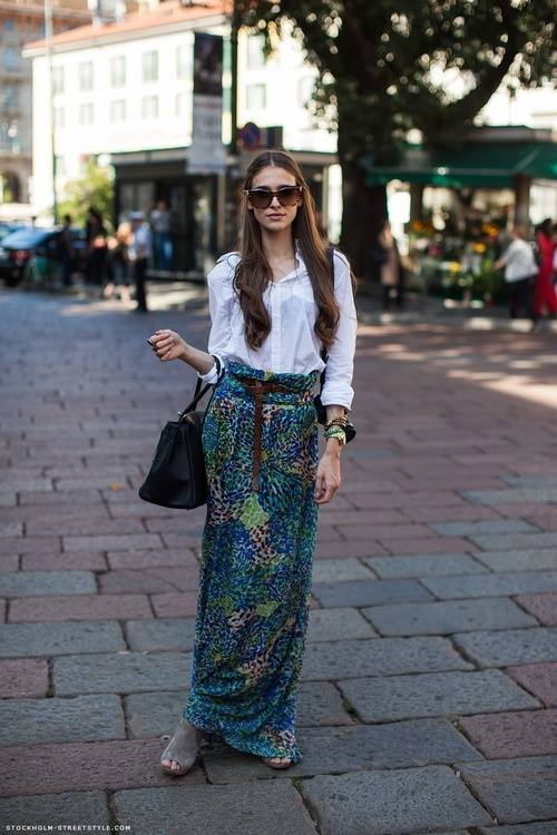 Fashion long skirts for summer 2013 (2)