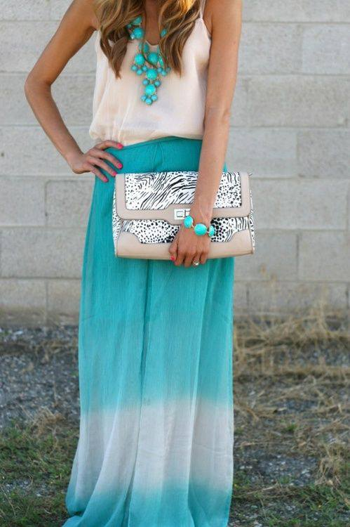 Fashion long skirts for summer 2013 (27)