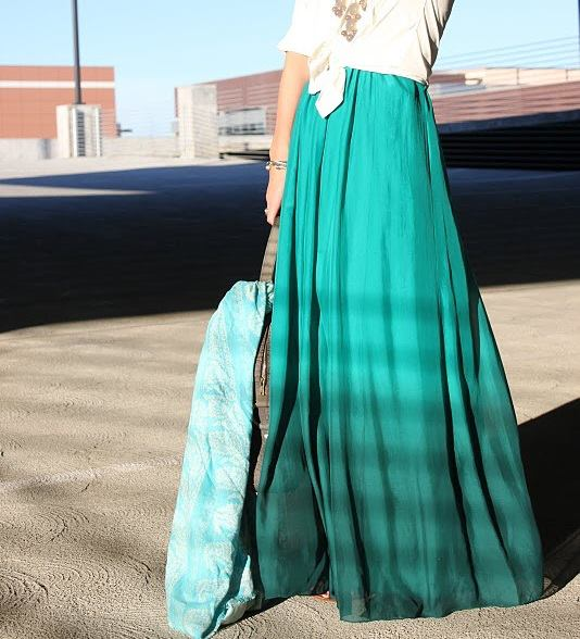 Fashion long skirts for summer 2013 (28)