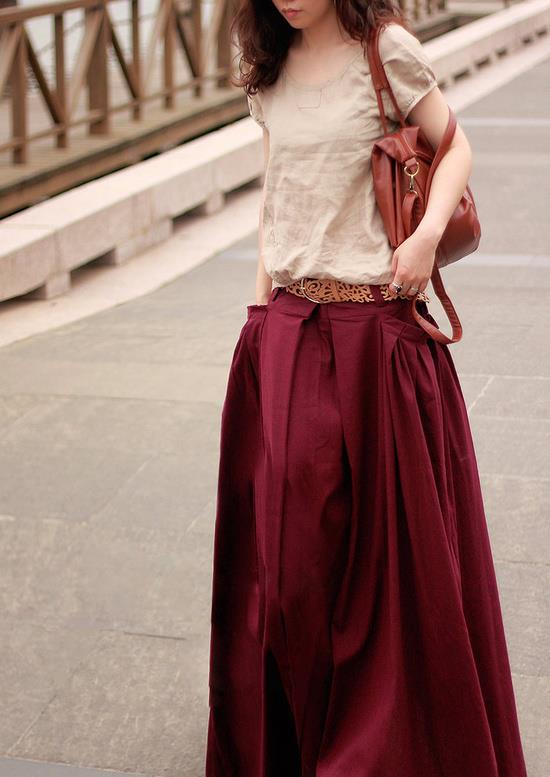Fashion long skirts for summer 2013 (3)