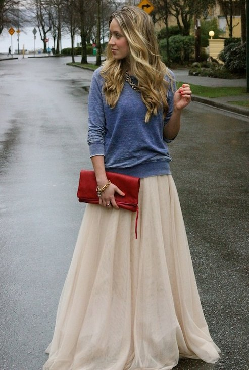 Fashion long skirts for summer 2013 (32)