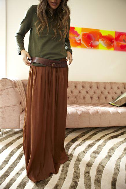 Fashion long skirts for summer 2013 (6)