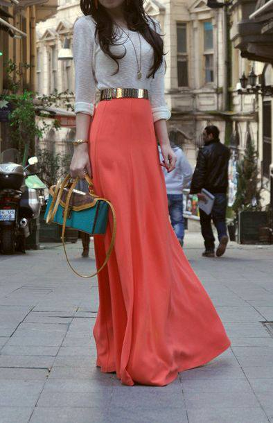 Fashion long skirts for summer 2013 (7)