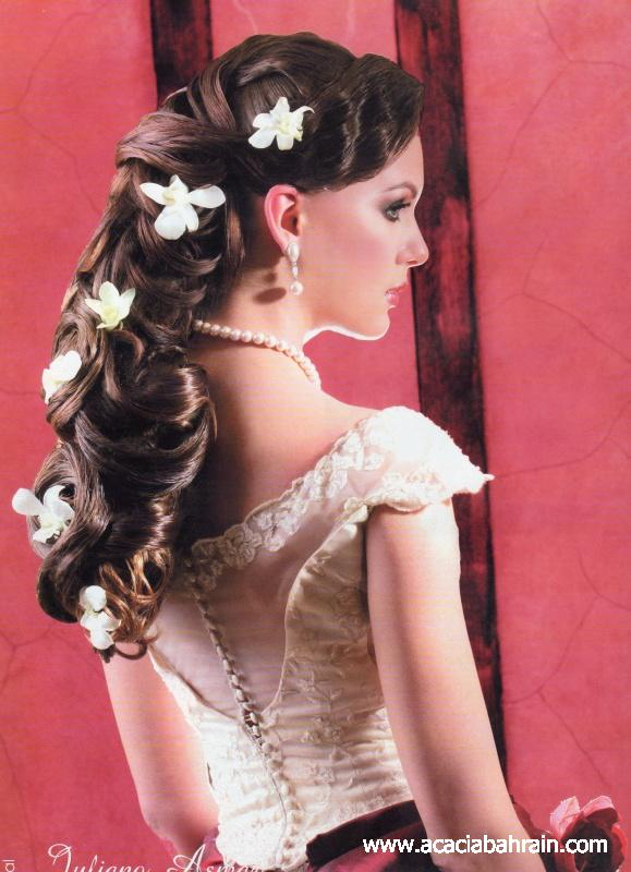 Hairstyles for bride Eve (10)