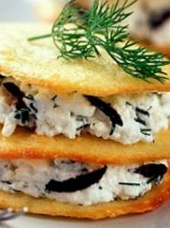 Biscuits with cheese and herbs