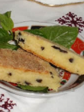 Harsha cheese and black olives