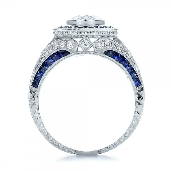 Art-Deco-Blue-Sapphire-Engagement-Ring