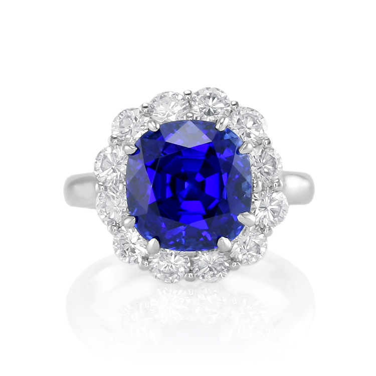 Blue-Sapphire-and-Diamond-Rings