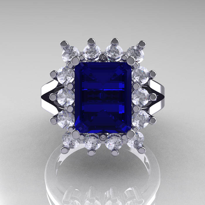 Modern-Victorian-4-Carat-Blue-and-White-Sapphire-Engagement-Ring