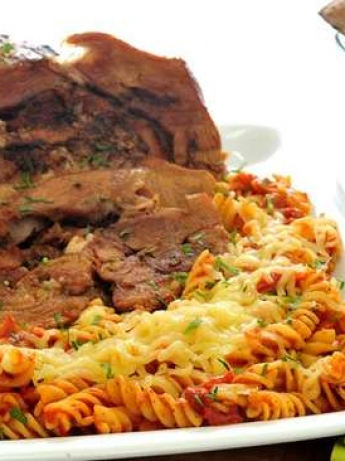 Spaghetti with meat Balbaprica