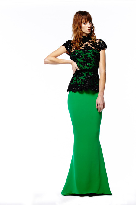 Evening Dresses in Reem Acra Pre-Fall 2014 (11)