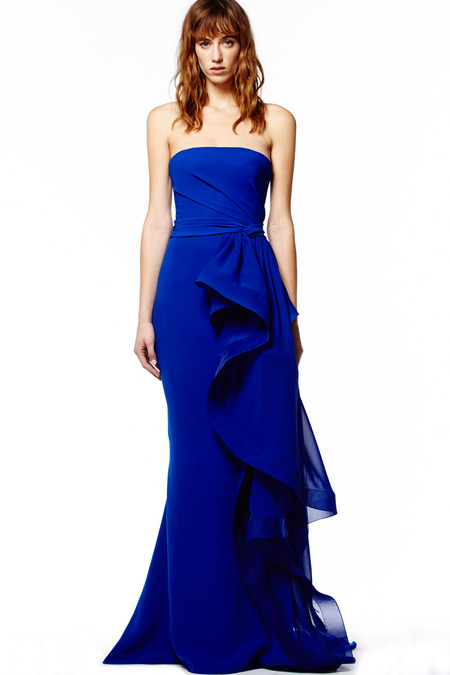 Evening Dresses in Reem Acra Pre-Fall 2014 (13)