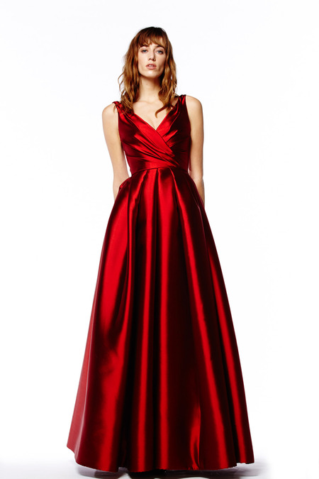 Evening Dresses in Reem Acra Pre-Fall 2014 (14)